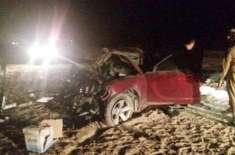 سعودی عرب ، طائف میں ٹریفک حادثے میں  3 افراد جاں بحق