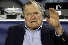 سابق امریکی صدر جارج بش سینئیرانتقال کر گئے