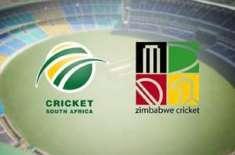 جنوبی افریقہ اور زمبابوے کی ٹیمیں پہلے ون ڈے انٹرنیشنل میچ میں کل آمنے ..