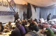 لاہور کی پناہ گاہوں کے باوجود بے گھر افراد سڑکوں پہ سونے پر مجبور