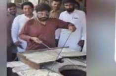 ابرار الحق بھی انتخابی مہم چلانے کے لیے شیخ رشید کی نقل کرنے لگ گئے