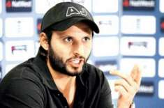 corruption and illiteracy are biggest problems of pakistan: shahid afridi