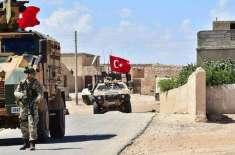 شمالی شام میں ترک فوجی قافلے پر حملہ میں 5 فوجی ہلاک،12 زخمی