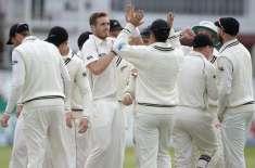 نیوزی لینڈ اور سری لنکا کی ٹیموں کے درمیان کھیلا گیا ویلنگٹن ٹیسٹ بغیر ..