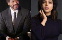 فلم 'سلوٹ' میں شاہ رخ کے مدمقابل اداکارہ بھومی پڈنیکر کا نام سامنے ..