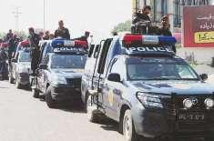 سندھ پولیس کی 8 سے 10 محرم تک موبائل فون،