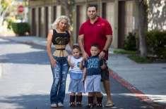تین بچوں کی ماں اپنی کمر کے 18 انچ سائز کو برقرار رکھنے کےلیے ہر روز 23 ..