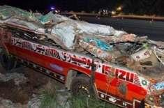 سپیکر اور ڈپٹی سپیکر قومی اسمبلی کا ڈیرہ غازی خان میں ٹریفک حادثے میں ..