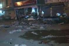 قائد آباد دھماکے کا مقدمہ سی ٹی ڈی انسداد دہشتگردی ایکٹ کے تحت درج کرلیا ..