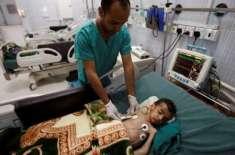 یمن میں ہیضے کی وباء خطرناک حدودں کو چھونے لگی،قابوپانے میں مشکلات ..
