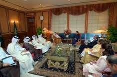 وزیراعظم عمران خان سے قطر کے وزیر خارجہ شیخ محمد بن عبدالرحمن کی ملاقات