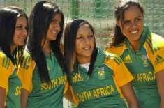 ویسٹ انڈیز اور جنوبی افریقہ کی ویمن ٹیموں کے درمیان پانچ ٹی ٹونٹی کرکٹ ..