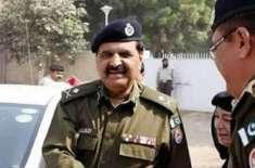 آئی جی سندھ کا ایم ٹی ورکشاپ،پولیس لین گارڈن ساؤتھ کا تفصیلی دورہ