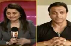 Shoaib Akhtar Insults Indian Journalist