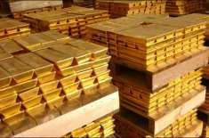 بین الاقوامی بلین مارکیٹ میں فی اونس سونے کی قیمت میں 3ڈالر کی کمی،مقامی ..