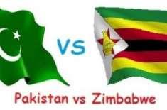 پاکستان نے زمبابوے کو دوسرے ون ڈے میچ میں 9 وکٹوں سے شکست دے دی