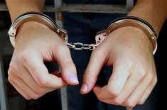 وفاقی پولیس کی جرائم پیشہ عناصر کیخلاف کارروائیاں، 6 ملزمان گرفتار،