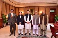 وزیراعظم سے چاروں صوبائی وزرائے اعلیٰ کی ملاقات'