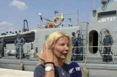 برٹش خاتون جہاز سے سمندر میں گرنے کے دس گھنٹے بعد بھی زندہ بچ گئی