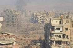 شامی فوج نے داعش کودمشق کے آخری ٹھکانے سے بے دخل کردیا