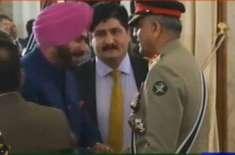 it was great to meet general bajwa: navjot sidhu