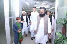 Asad Umar Denies forming alliance with HUM Khaleel Ur Rehman