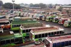 ملک میں بسوں کی پیداواراورفروخت میں کمی