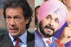 وزیراعظم عمران خان نے تقریب حلف برداری میں شرکت کرنے پر نوجوت سنگھ ..
