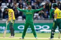 جنوبی افریقہ کا پاکستان کے خلاف سیریز پہلے دو ون ڈے میچوں کیلئے ڈیل ..