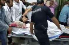 وزیر داخلہ احسن اقبال قاتلانہ حملے میں زخمی،حالت خطرے سے باہر،لاہور ..