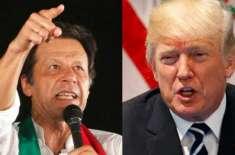 امریکی محکمہ خارجہ نے صدر ٹرمپ کے وزیراعظم عمران خان کو خط بھیجنے کی ..