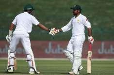 ابو ظہبی ٹیسٹ ،پاکستان نے آسٹریلیا کو جیت کیلئے پہاڑ جیساہدف دیدیا