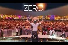شاہ رخ خان اپنی نئی آنے والی فلم''زیرو''کی پروموشن کیلئے دبئی پہنچ ..