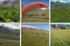 وادی چترال کے تفریحی سیاحتی مقام شاقلشت میں تین روزہ میلہ کل سے  شروع ..