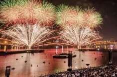 امارات کے باسی عید الاضحی کے موقع پرشاندار آتش بازی دیکھنے کے لیے تیار ..