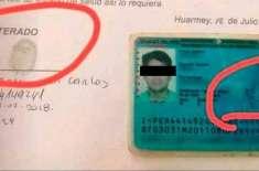 پیرو سے تعلق رکھنے والے شخص کے عجیب و غریب دستخط وائرل ہو گئے