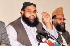 پاکستان علماء کونسل کسی مارچ یا دھرنے میں شریک نہیں ہوگی، حافظ طاہر ..