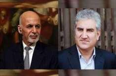 ْ وزیر خارجہ شاہ محمود قریشی کی افغان صدر سے ملاقات ،ْ