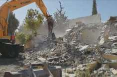 بیت المقدس میں فلسطینی شہری اپنے ہاتھوں سے اپنے گھر گِرانے پر مجبور