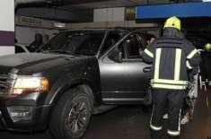 ابو ظہبی:گاڑی میں پھنسی اکیلی بچی کو بچا لیا گیا