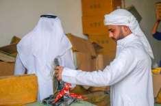 عجمان میں جعلی اشیاء بیچنے والوں کے خلاف آپریشن جاری