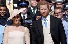 برطانوی شاہی خاندان نے میگھن مرکل پر پابندیاں عائد کردیں