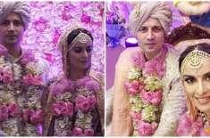سومیت ویاس اور ایکتا کول شادی کے بندھن میں بندھ گئے