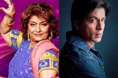 شاہ رخ خان نے اپنی محنت کا سہرا کوریو گرافر سروج خاان کے سر باندھ دیا