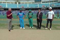Pakistan have won the toss and elected to bat first against India