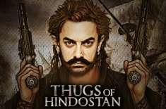 فلم ''ٹھگ آف ہندوستان'' کی ریلیز کی تاریخ کا اعلان کردیاگیا
