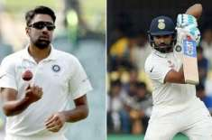 Ashwin and Rohit ruled out of 2nd Test