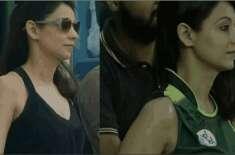 بھارتی ایشیا کپ کے دوران اسٹیڈیم میں بیٹھی پاکستانی لڑکی پر دل ہار ..