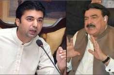 نمبر ون وزیر بننے میں شیخ رشید اور مراد سعید میں سخت مقابلہ