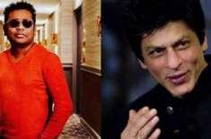شاہ رخ خان کے ساتھ میوزک وڈیو میں کام کرنے کا تجربہ دلسچپ رہا، اے آر ..